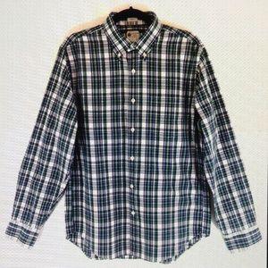 J. Crew Shirtings Washed Casual Button Down Shirt
